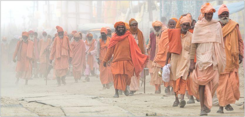 Safran Army ~ Kumbh Mela