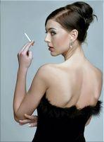 .......sagen sie, stört es wenn ich rauche......
