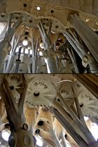 Sagrada Família, Detail of Architecture & Structure of the Nave Columns & Vaulting