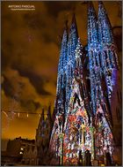 Sagrada Familia. Fiestas de la Merce