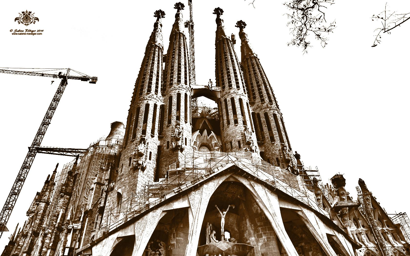 Sagrada Família - Passion façade