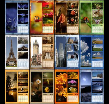 saguari´s calendar 2010
