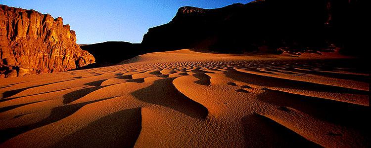 Sahara - Abendzauber im Tin Merzouga -