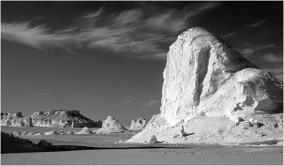 SAHARA - au Désert Blanc en Egypte