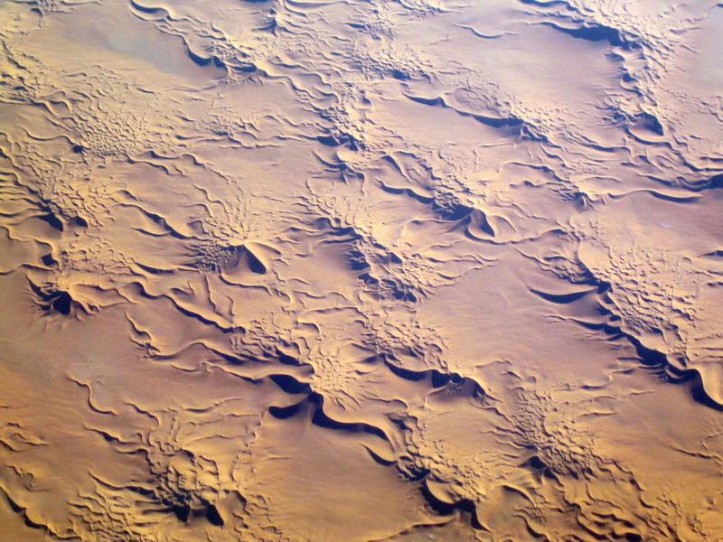 Sahara-Häufchen
