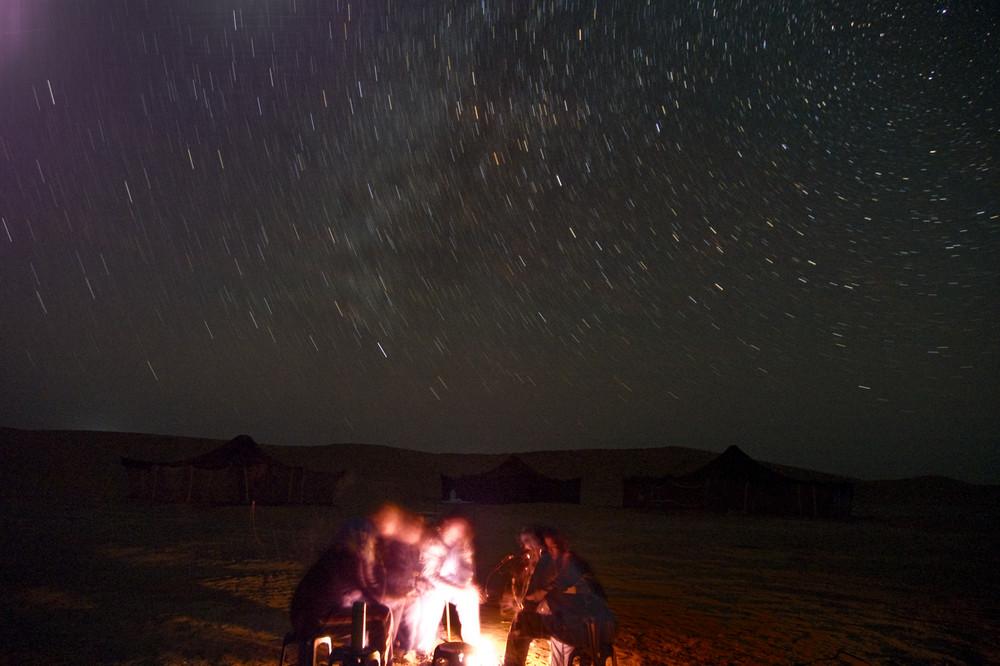 Sahara nachts