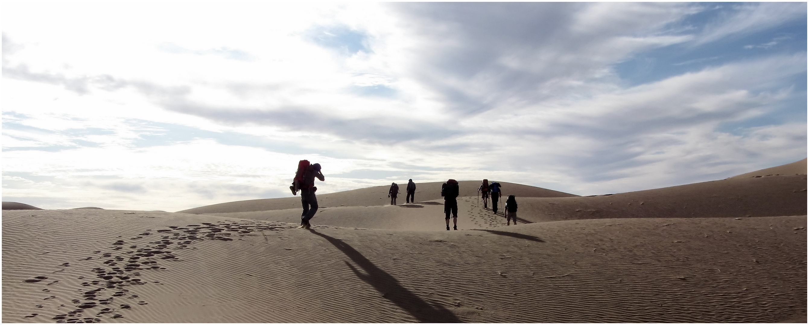 Sahara pur - zu Fuß