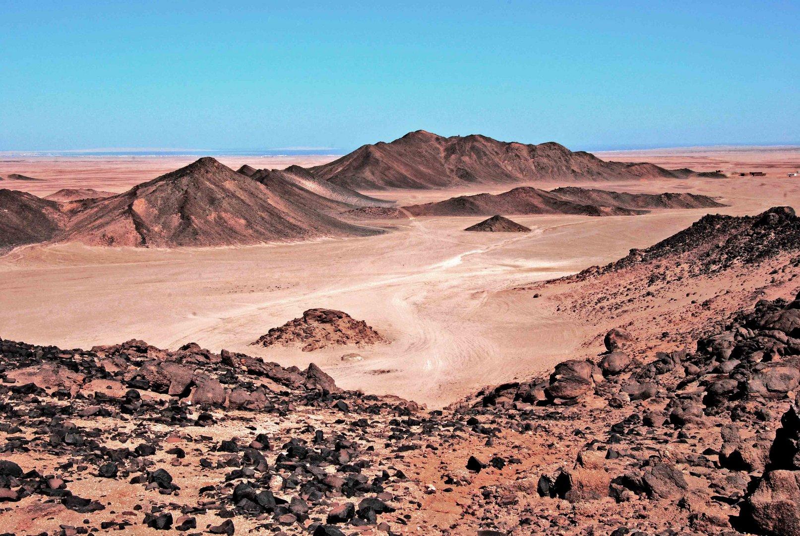Sahara Red Sea