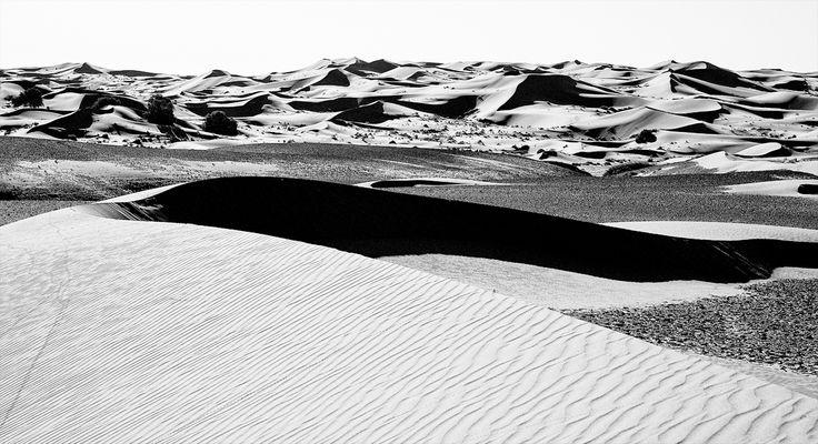 Sahara schwarz-weiss