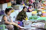 Saigon, Cho Ben Than Markt, Fischverkauf