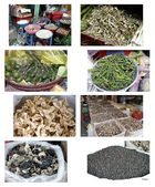 Saigon - Große Markthalle - Eine Angebotsauswahl