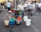 Saigon - Imbißstand am Straßenrand