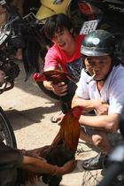 Saigon, Kampfhuhnhändler