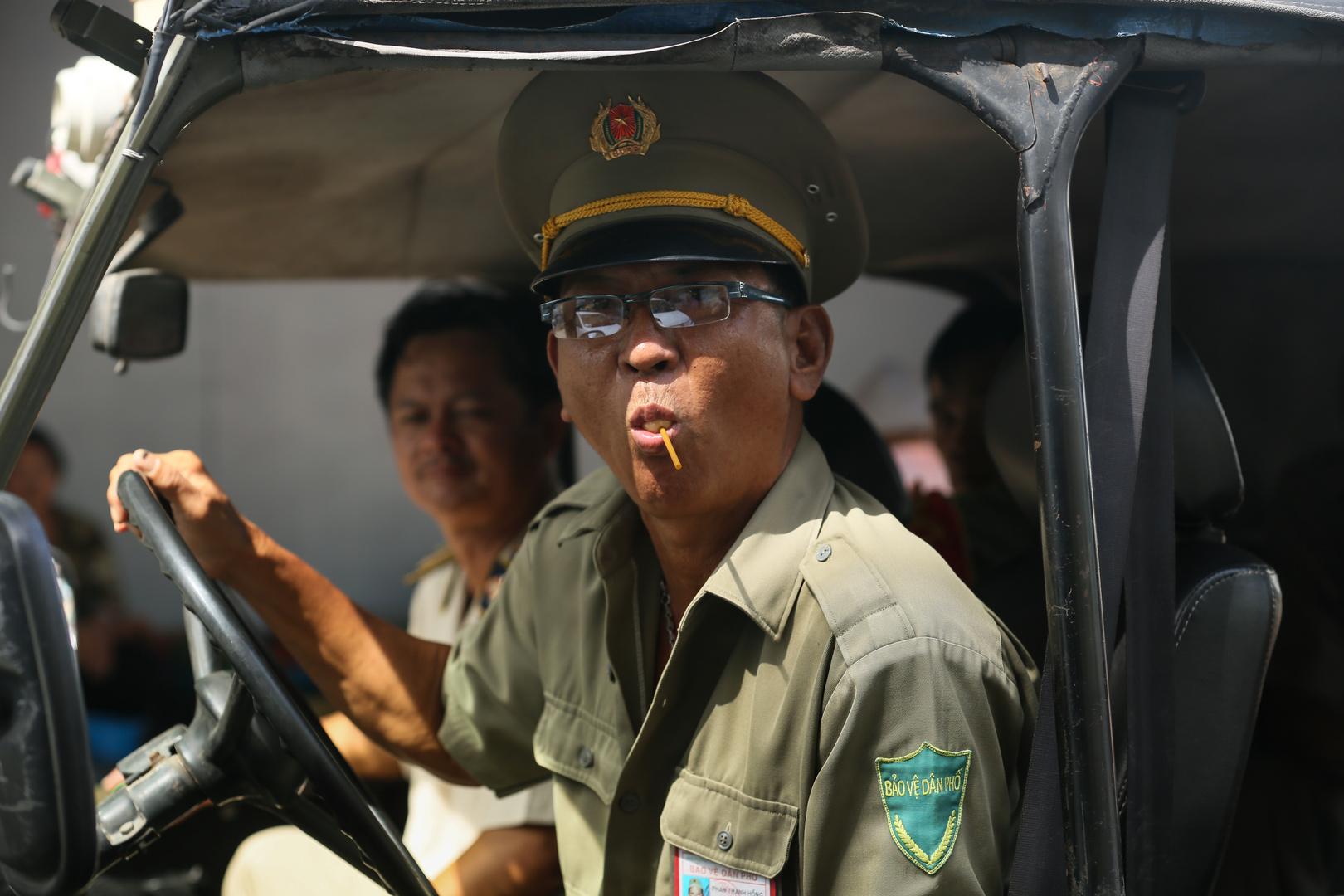 Saigon, Polizei