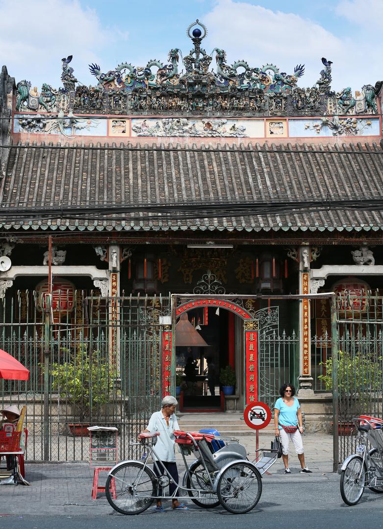 Saigon, Tempel von außen