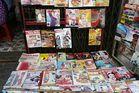 Saigon - Zeitschriftenstand