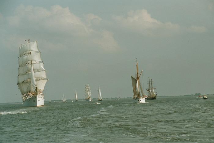 Sail 2004, Klar zum Auslaufen