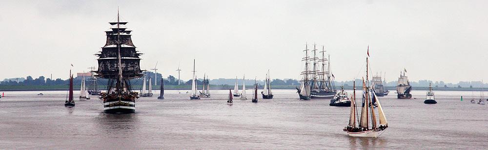 Sail 2005 - Abschlussparade