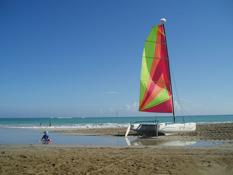 Sail on Cabarete Beach
