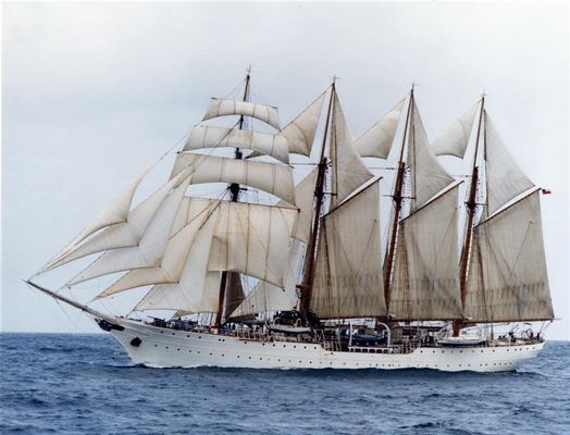 "Sail training ship ""Esmerelda"""