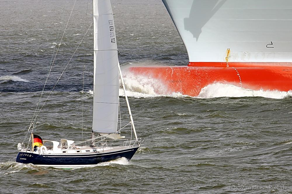 ... sailing ...