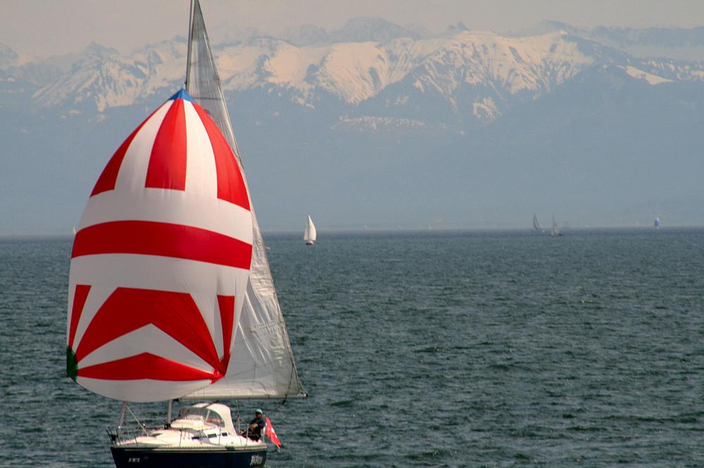 Sailing am Bodensee...