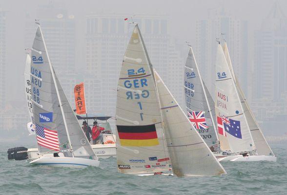 Sailing City Qingdao 2.4 Start