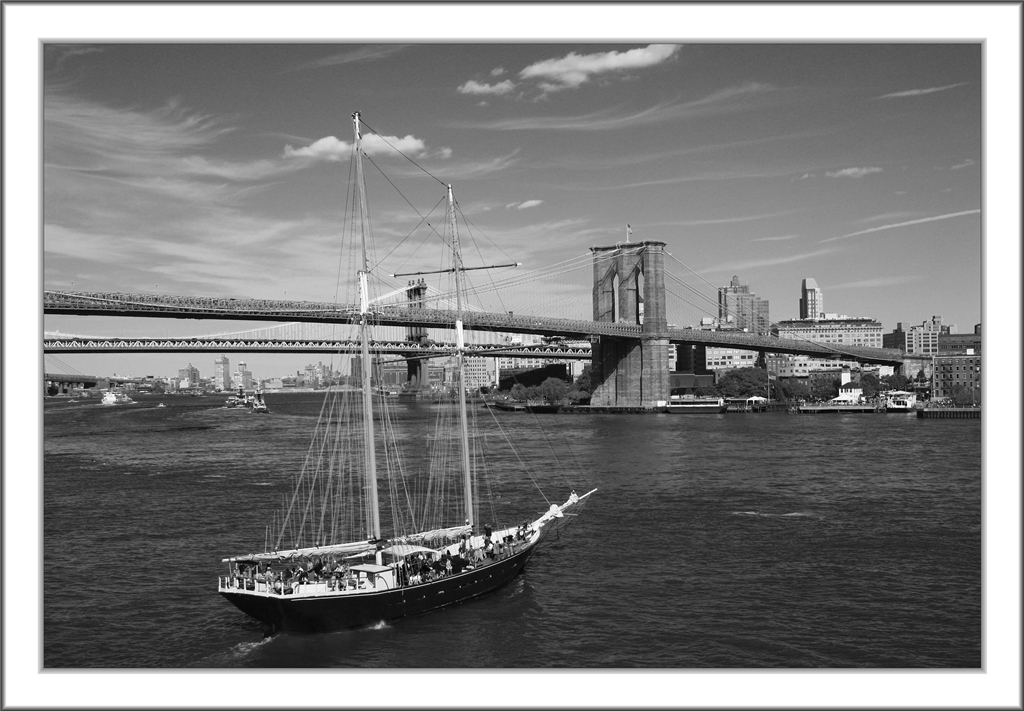 Sailing on East River...