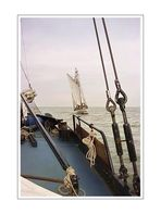 Sailing with the Courier (on the Ijzelmeer III) NL