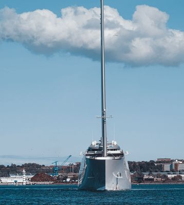 Sailing Yacht A five