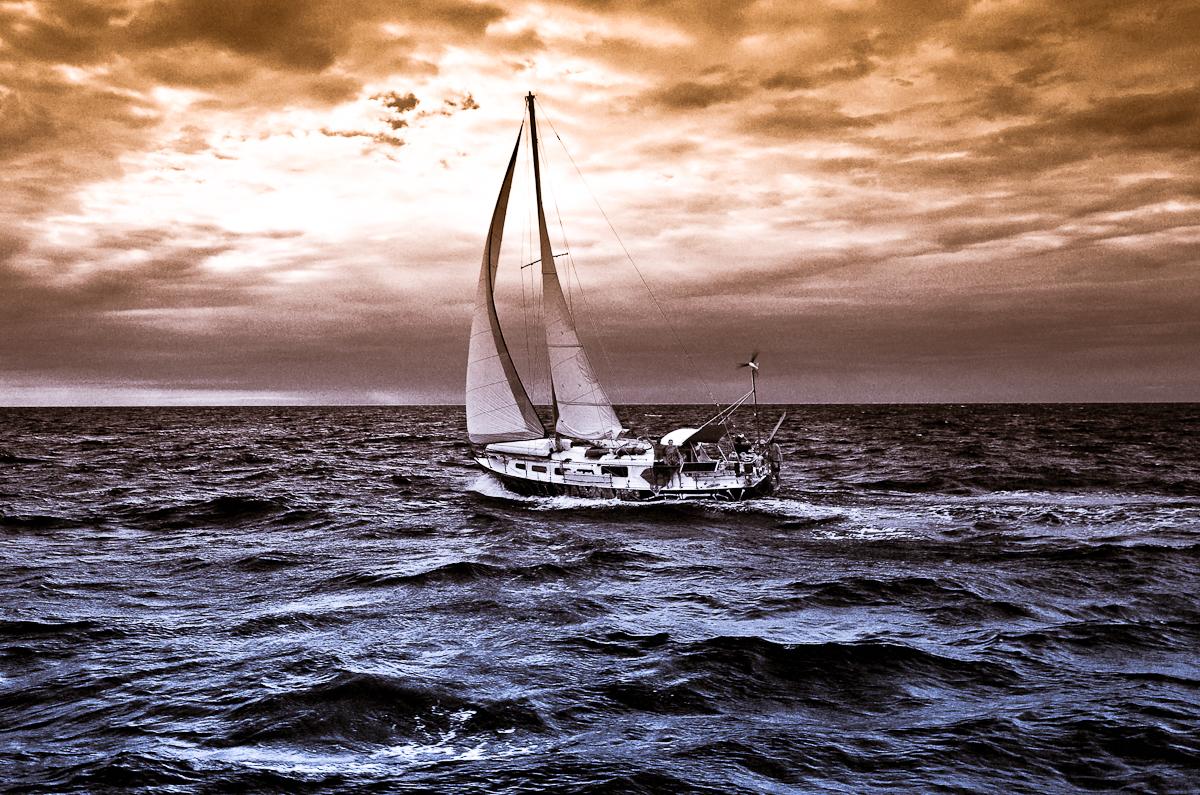 sailing yacht sailing