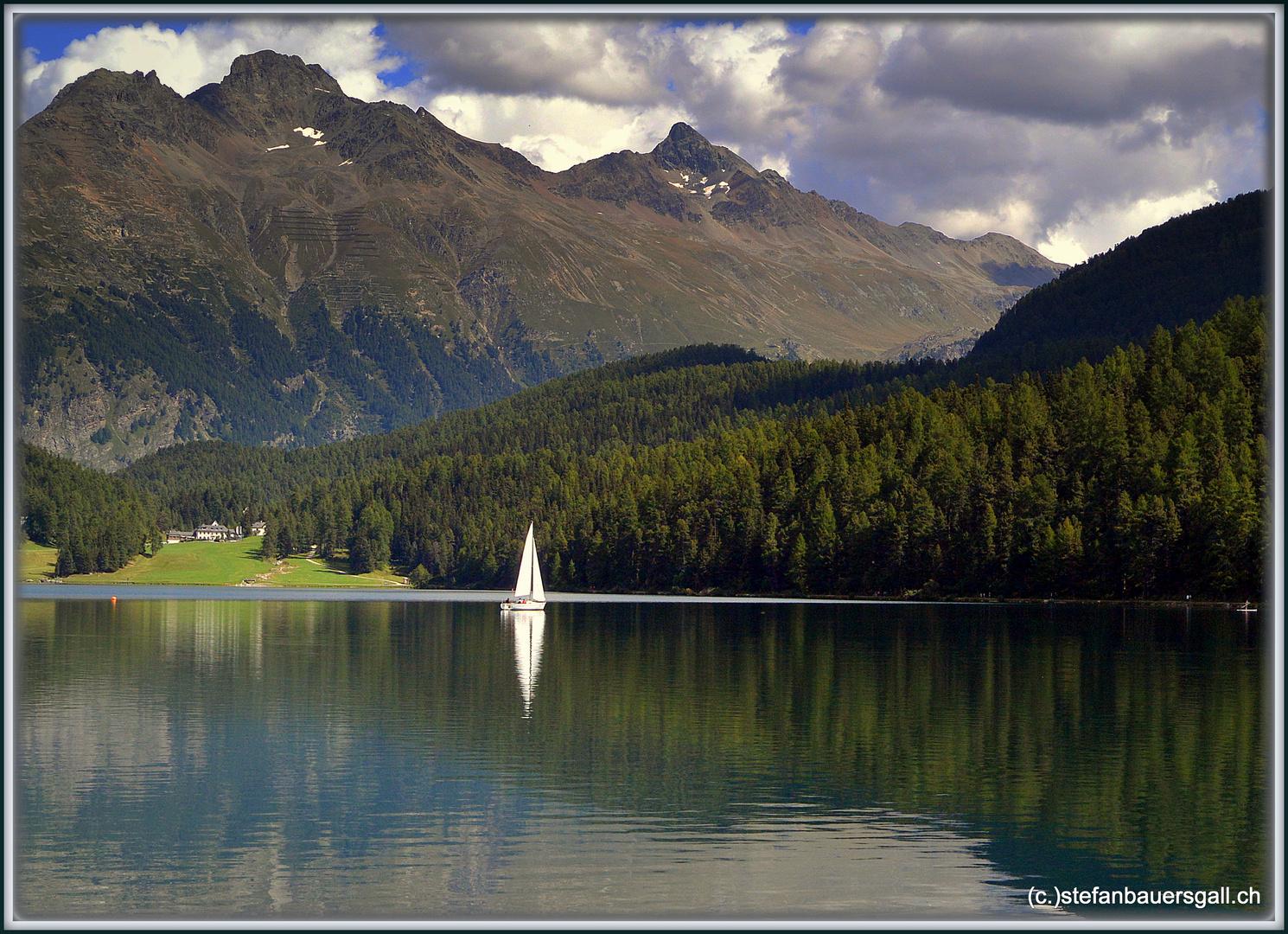 """sailing..St.Moritz."""