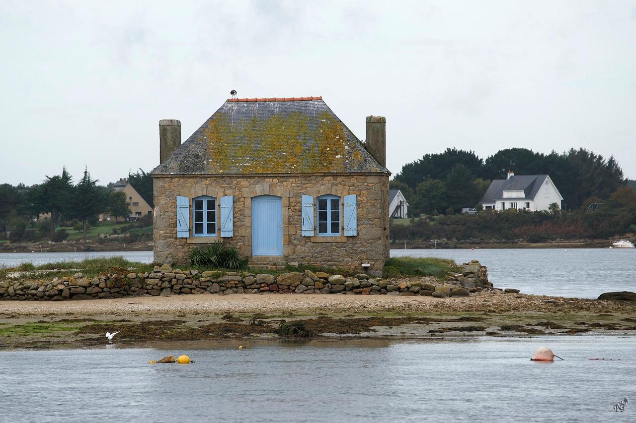 Saint-Cado , sur la rivière d'Etel