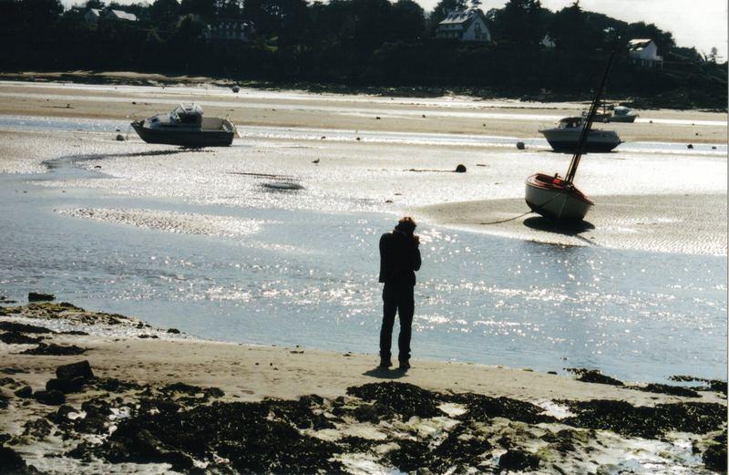 Saint Cast Le Guildò e la marea ritirata