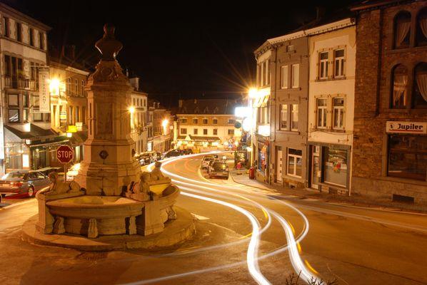 Saint-Hubert by night