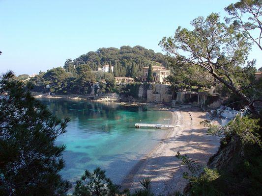 Saint-Jean Cap Ferrat - L'anse des Fossettes