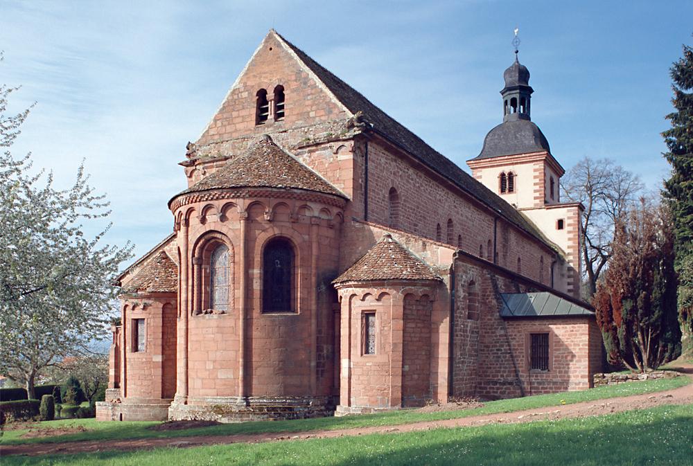 Saint-Jean-Saverne / St. Johann bei Zabern, ehem. Abteikirche Saint-Jean-Baptiste.