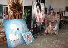 Saint Luc : atelier de peinture