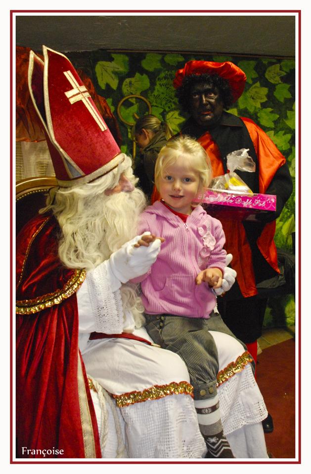 Saint Nicolas et les enfants