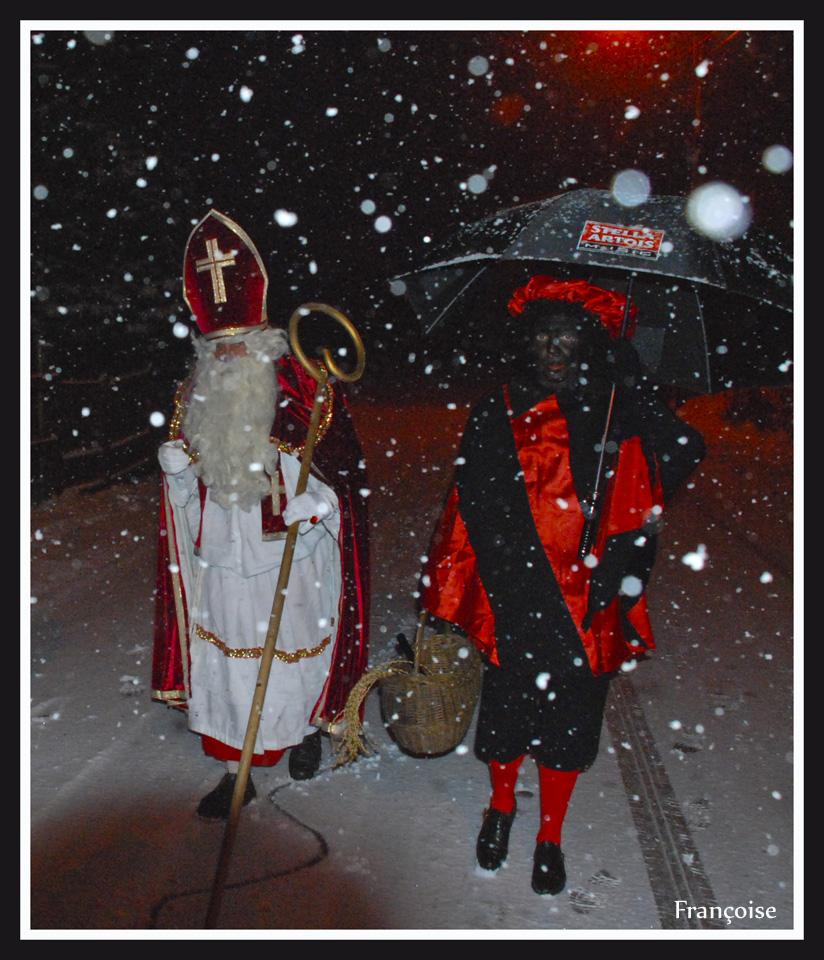 Saint Nicolas & Père fouetard