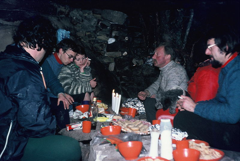 Saint Sylvestre 1977 à Fontainebleau (3)