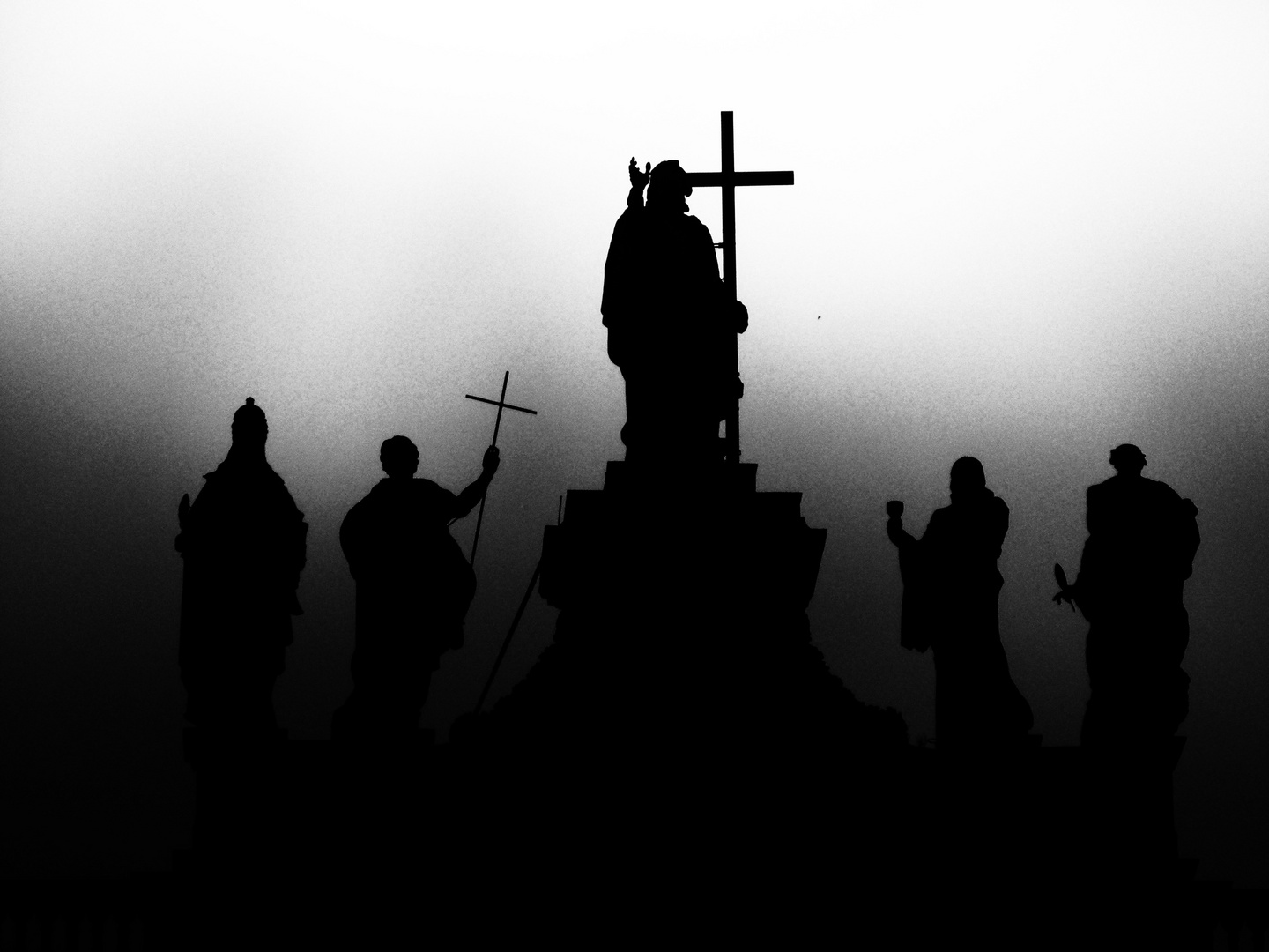Saints in the mist