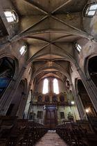 Sakrale Bögen (Kirchenraum Carpentras)