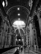 Sakrales Licht im Petersdom