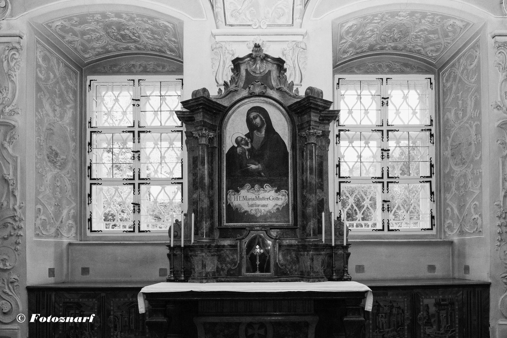 Sakristei in Stift Heiligenkreuz