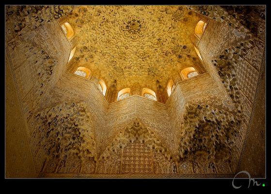 Sala de los Abencerrajes... detalle de la bóveda