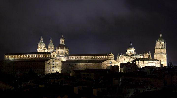 Salamanca bei Nacht