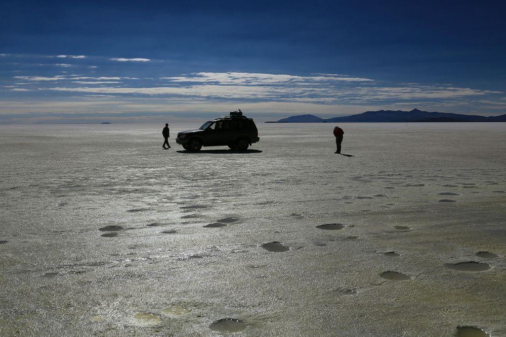 Salar de Coipasa Bolivien