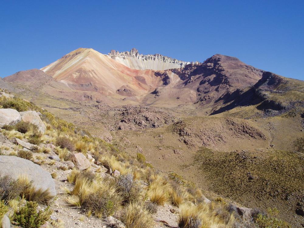 Salar de Uyuni- Vulkan Tunupa