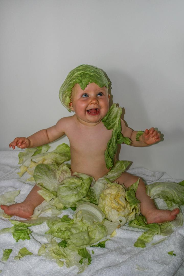 Salatblatt 1